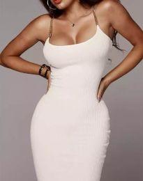 Фустан - код 2582 - бело