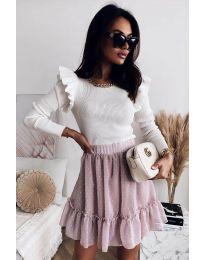 Блуза - код 8865 - 1 - бело