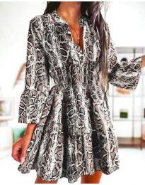 Фустан - код 4250 - шарена
