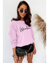 Блуза - код 917 - розова