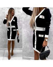 Фустан - код 7574 - црна