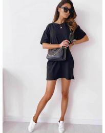 Фустан - код 7236 - црна