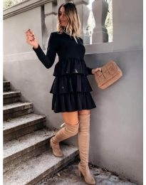 Фустан - код 2951 - црна
