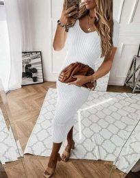 Фустан - код 0714 - 3 - бело