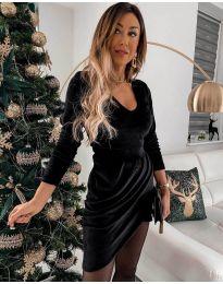 Фустан - код 2129 - црна