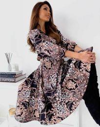 Фустан - код 6027 - шарена