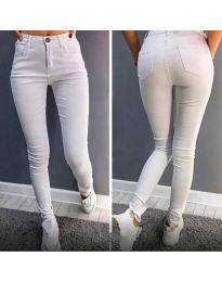 Панталони - код 2823 - 1 - бело