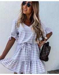 Фустан - код 444 - бело