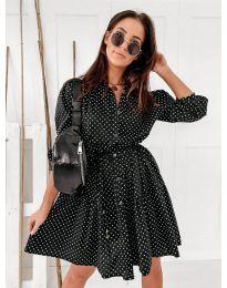Фустан - код 5557 - црна