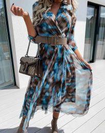 Фустан - код 8250 - шарена