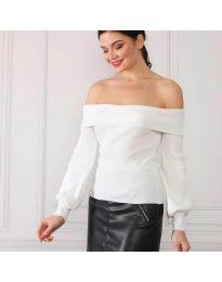 Блуза - код 0247 - бело
