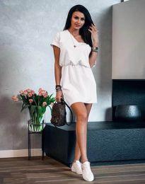 Фустан - код 3214 - бело