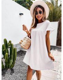 Фустан - код 744 - бело