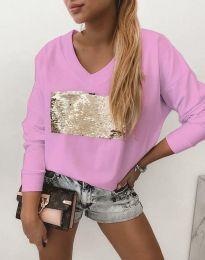 Блуза - код 4150 - розова