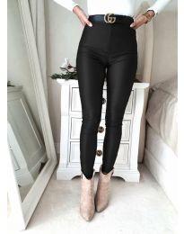 Панталони - код 2789 - 3 - црна