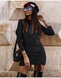 Фустан - код 9545 - црна