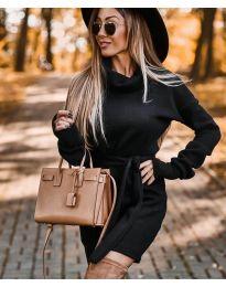 Фустан - код 8400 - црна