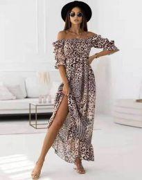 Фустан - код 6319 - 6 - шарено