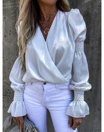 Блуза - код 5451 - бела
