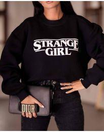 Блуза - код 2070 - црна