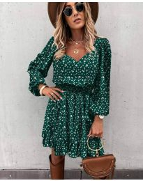 Фустан - код 0366 - путер зелена