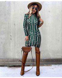 Фустан - код 0258 - путер зелена