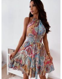 Фустан - код 3858 - шарена
