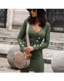 Фустан - код 4516 - путер зелена