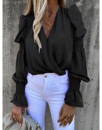 Блуза - код 5451 - црна