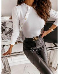 Блуза - код 41788 - бело