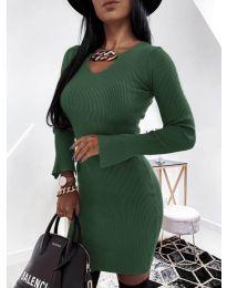 Фустан - код 5666 - путер зелена
