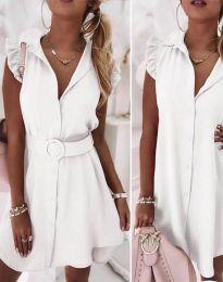 Фустан - код 7411 - бело