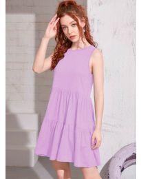Фустан - код 4471 - светло виолетова