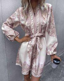 Фустан - код 4753 - шарена
