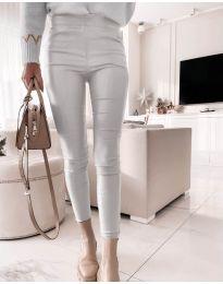 Панталони - код 2788 - 2 - сребро