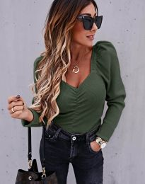Блуза - код 394 - путер зелена