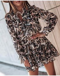 Фустан - код 6014 - 3 - шарено