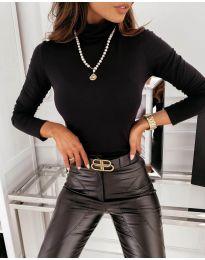 Блуза - код 0307 - црна