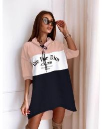 Фустан - код 9090-5 - шарено