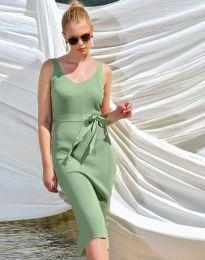 Фустан - код 2721 - зелена