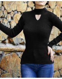 Блуза - код 5191 - црна