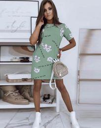 Фустан - код 2906 - зелена