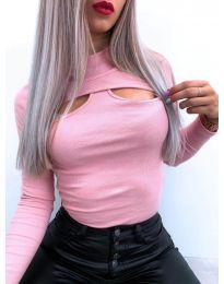 Блуза - код 1412 - розова