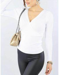 Блуза - код 6455 - бело
