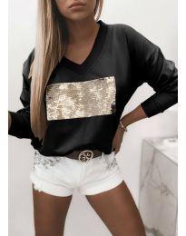 Блуза - код 4150 - црна