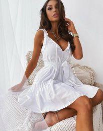 Фустан - код 0710 - 3 - бело