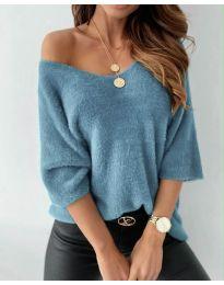 Блуза - код 901 - тиркизна