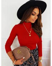 Блуза - код 7071 - црвена