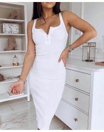 Фустан - код 3180 - бела