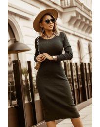 Фустан - код 8485 - црна